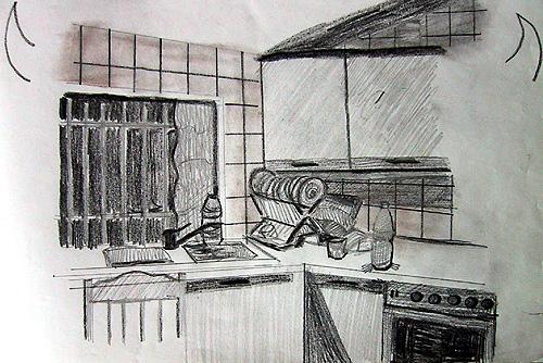 Boceto cocina
