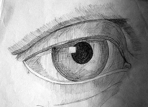 Boceto ojo
