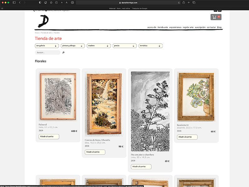 Galería de arte online de Daniel Formigo, Almería