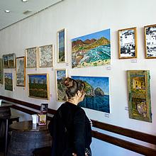 Exposición 2014 Galería La Barra de Retamar