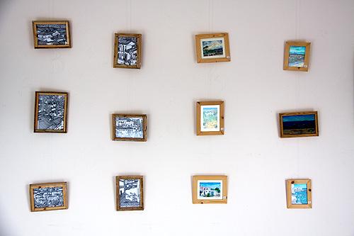 Pinturas y dibujos en pequeño formato