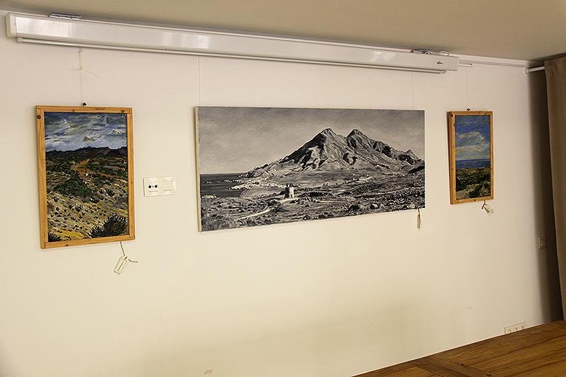 Vista del interior de la galería
