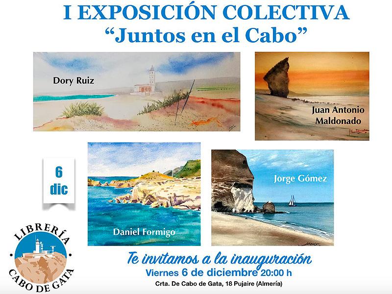 Cartel publicitario de la exposición colectiva