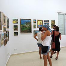 Exposición agosto 2012 Centro Cultural Carmen de Burgos de Rodalquilar