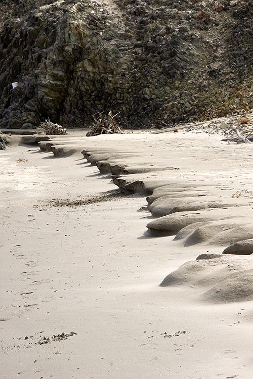 Dunas en la playa de Genoveses