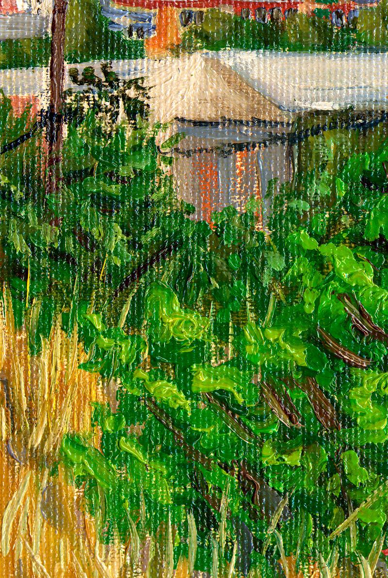 Detalle de Vista de Vilanova i la Geltrù