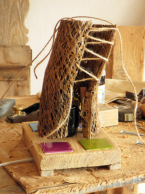 Proceso de creación de lámpara