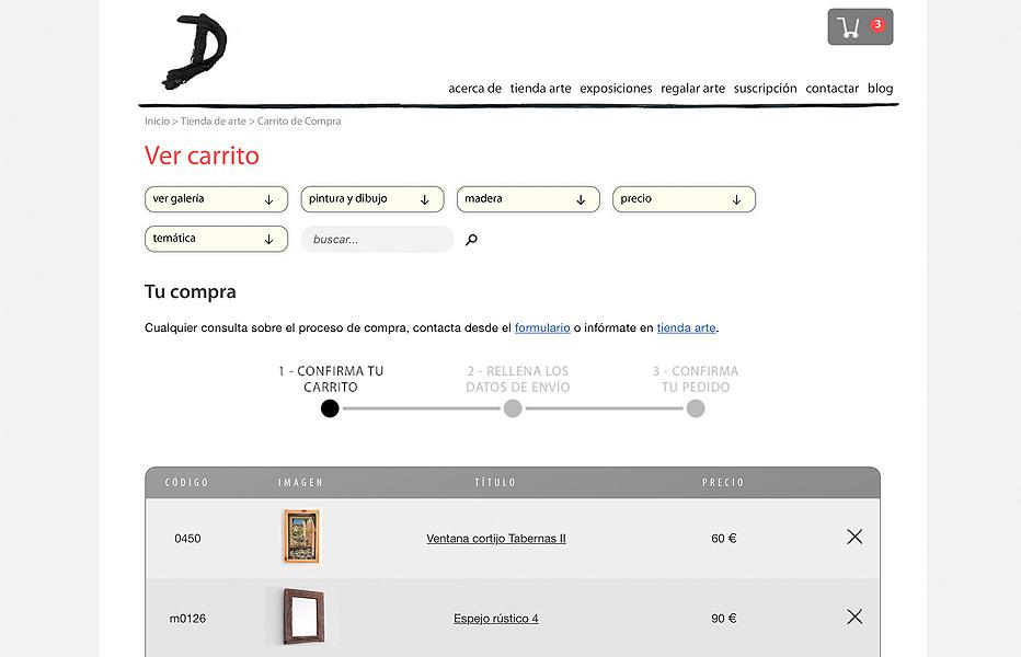 PHP - Carro de compra
